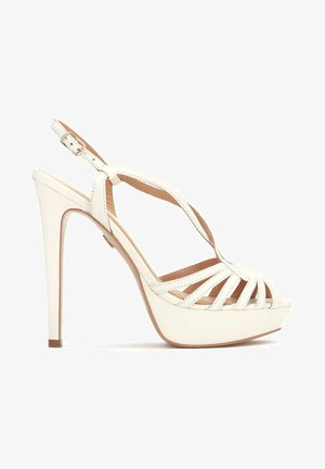 NOVIKA - Sandals - white