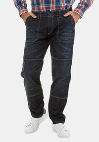 JP1880 - WORKER CASUAL  - Straight leg jeans - blue - 0