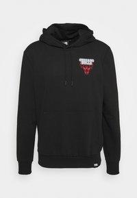 NBA CHICAGO BULLS NEON HOODY - Club wear - black