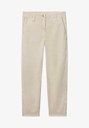 Straight leg jeans - sand
