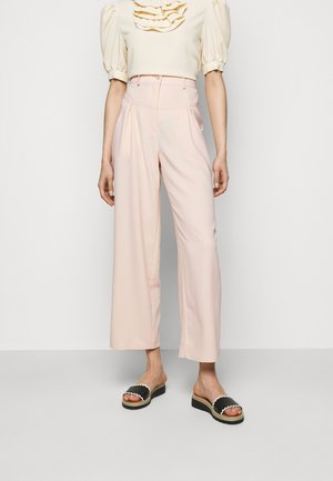 Trousers - macadamia brown