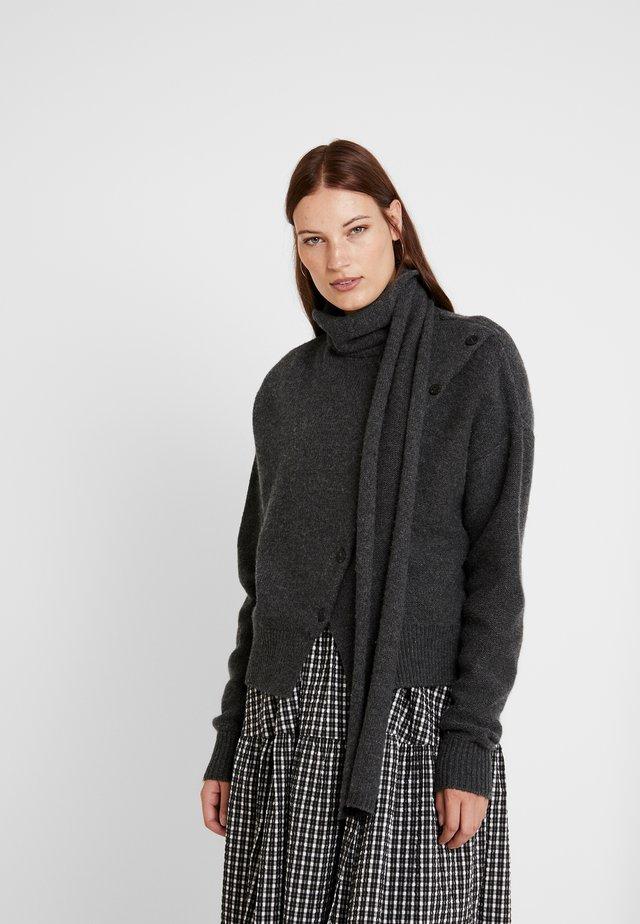 LEIGH - Pullover - dark grey melange