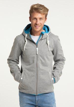 Zip-up sweatshirt - grau melange