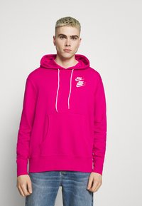 Nike Sportswear - HOODIE - Huppari - fireberry - 0