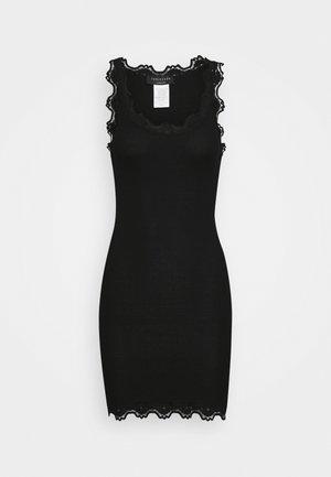 VINTAGE - Jersey dress - black