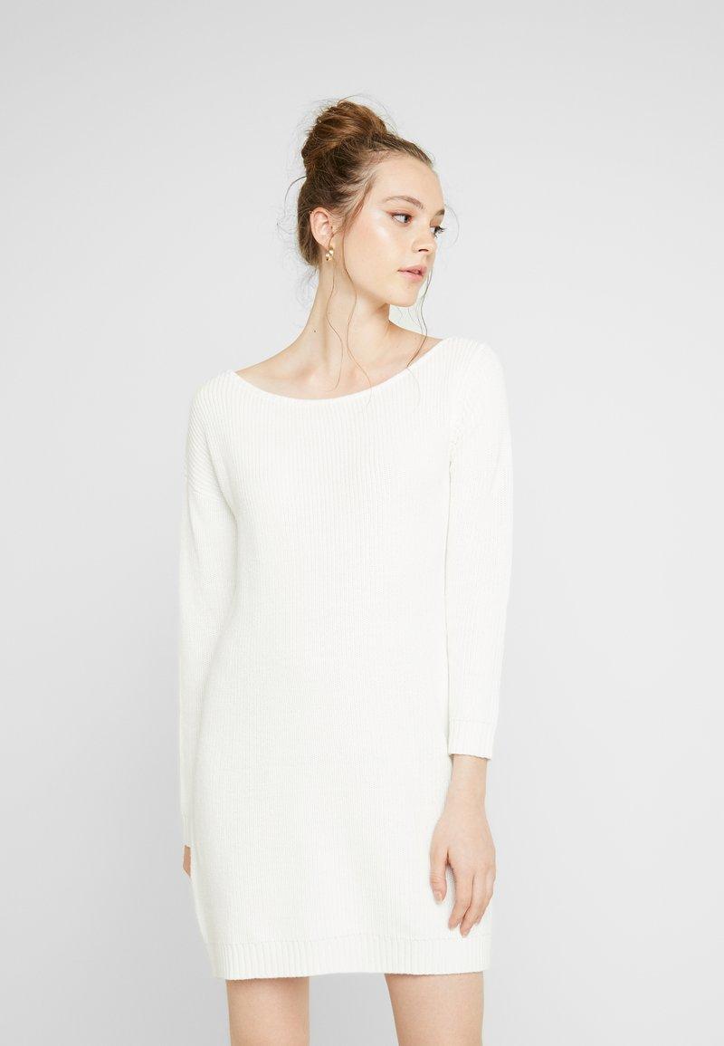 Even&Odd - Gebreide jurk - offwhite