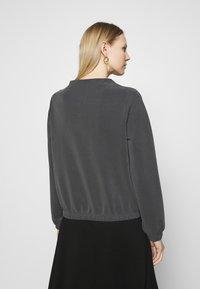 Opus - GABBI - Long sleeved top - black - 3