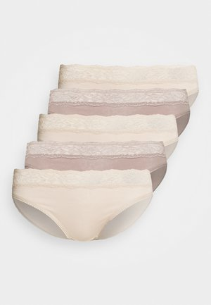 MIX KNICKER 5 PACK - Briefs - almond mix