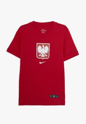 POLEN EVERGREEN CREST - Oblečení národního týmu - sport red