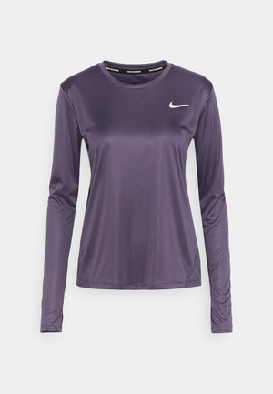 MILER - Sports shirt - dark raisin
