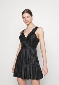 WAL G. - NAIROBI PLEATED DRESS - Cocktail dress / Party dress - black - 1