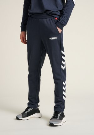 LEGACY PANTS - Tracksuit bottoms - blue nights