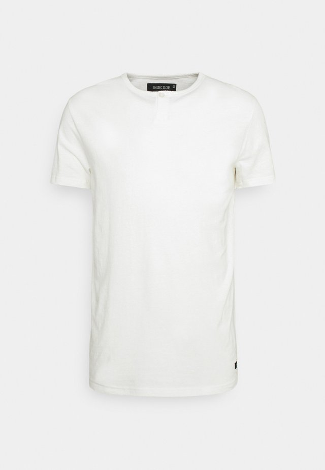 COHEN - Basic T-shirt - offwhite
