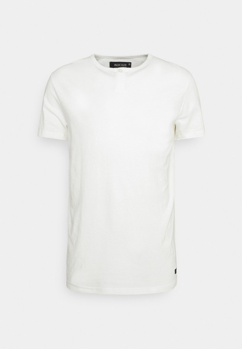 INDICODE JEANS - COHEN - T-shirt - bas - offwhite