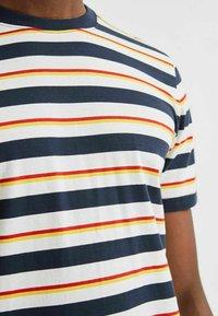 Selected Homme - T-shirt imprimé - sky captain - 3