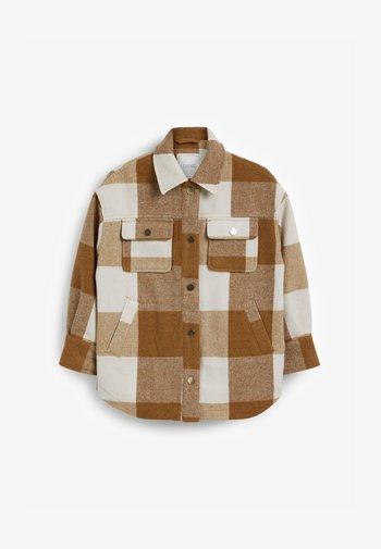 SHACKET - Light jacket - tan