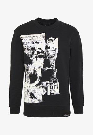 POSTCARD PRINT - Sweatshirt - black