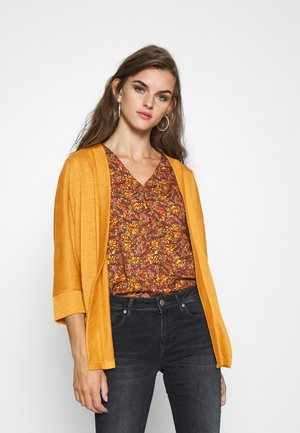 NMMOLLY CARDIGAN - Cardigan - inca gold