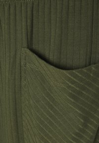 Simply Be - WIDE LEG TROUSER - Spodnie materiałowe - khaki - 2
