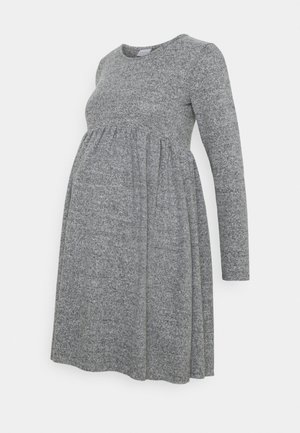 MLCAILA DRESS - Pletené šaty - grey/melange