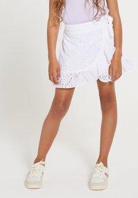Shiwi - Wrap skirt - bright white - 0