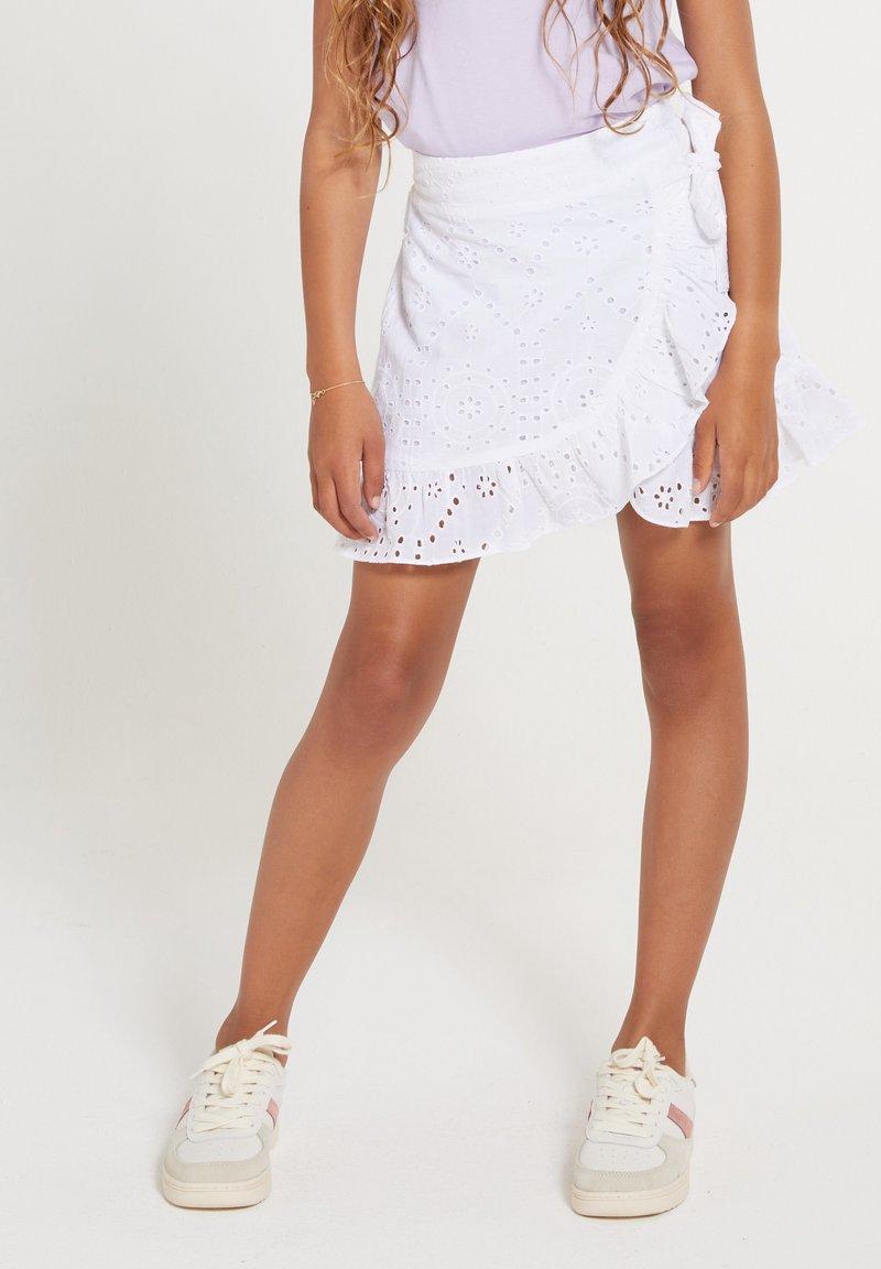 Shiwi - Wrap skirt - bright white