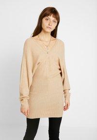 Even&Odd - Jumper dress - beige - 0