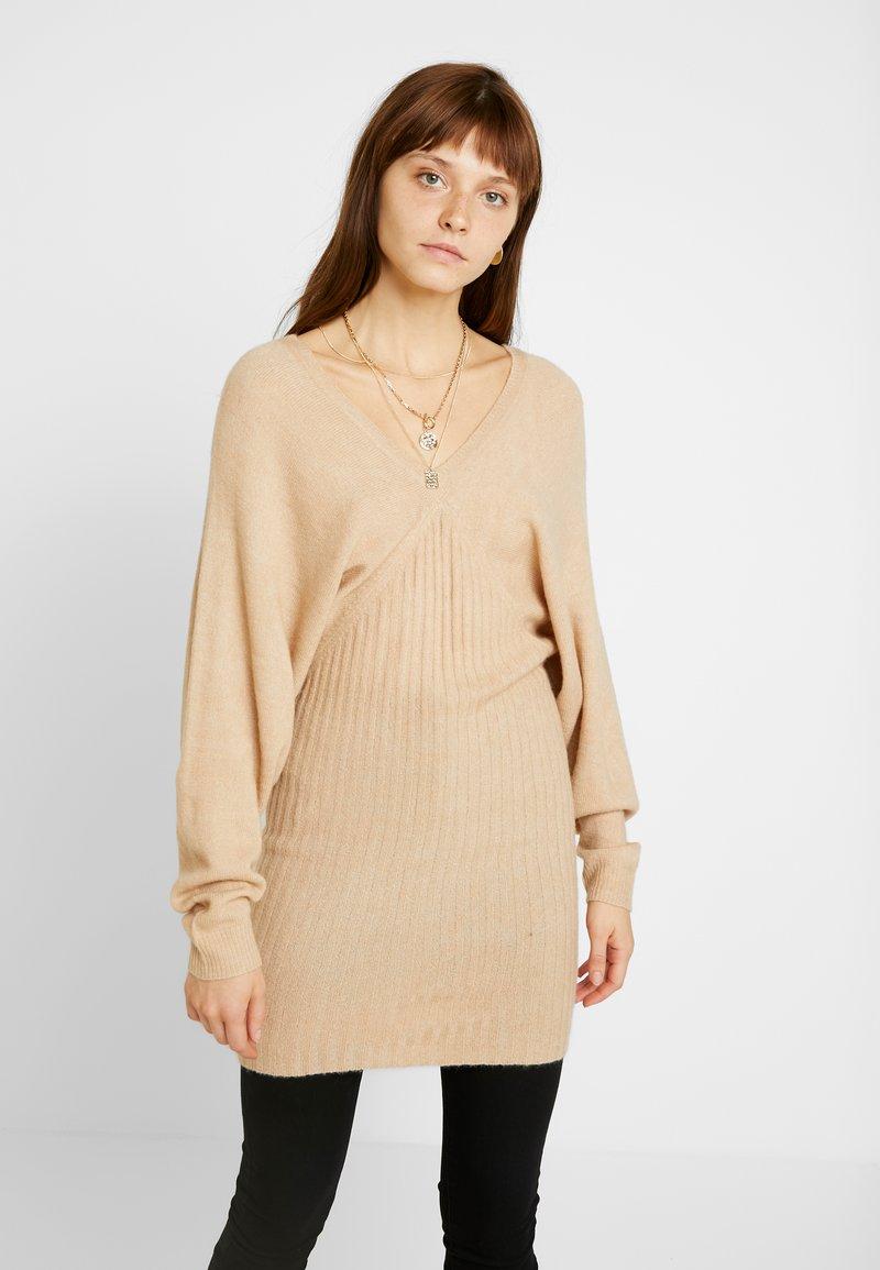 Even&Odd - Jumper dress - beige