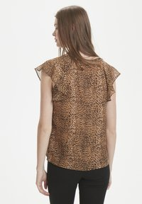 InWear - Blouse - light brown animal - 2
