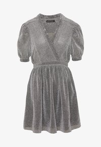 House of Holland - VNECK MINI DRESS - Cocktail dress / Party dress - silver - 3