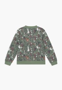 Lindex - MINI SWEET - veste en sweat zippée - light dusty green - 1