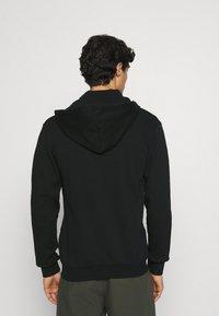 Pier One - Sweat à capuche zippé - black - 2