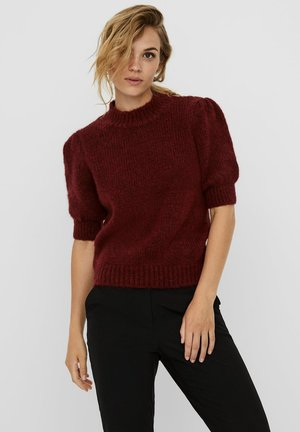 VMDIANA - Basic T-shirt - cabernet