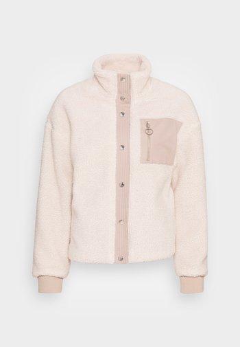 JDYDINGO JACKET - Winter jacket - whitecap gray simply taupe