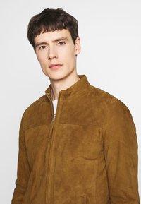 Serge Pariente - SYLVINO - Leather jacket - cognac - 3
