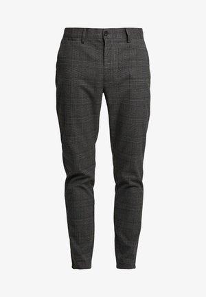 STEIN - Trousers - grey/dark green