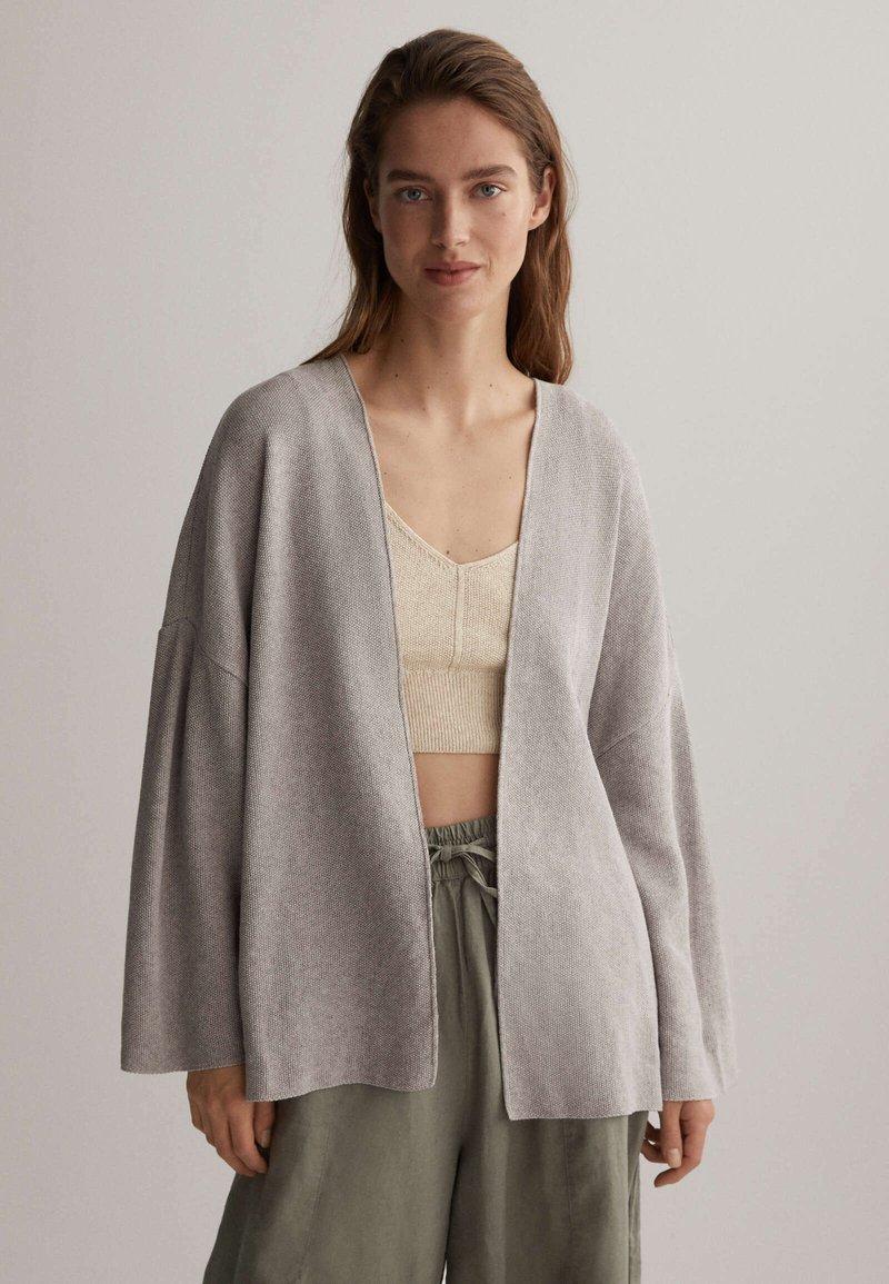 OYSHO - Cardigan - light grey