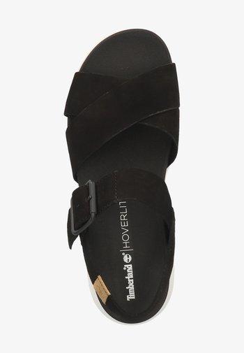 TIMBERLAND SANDALEN - Sandaler - black 0151