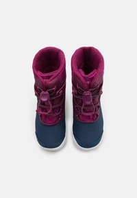 Merrell - SNOW BANK 2.0 WTRPF UNISEX - Winter boots - berry - 3