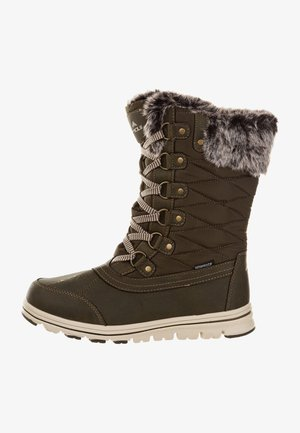 Winter boots -  forest night