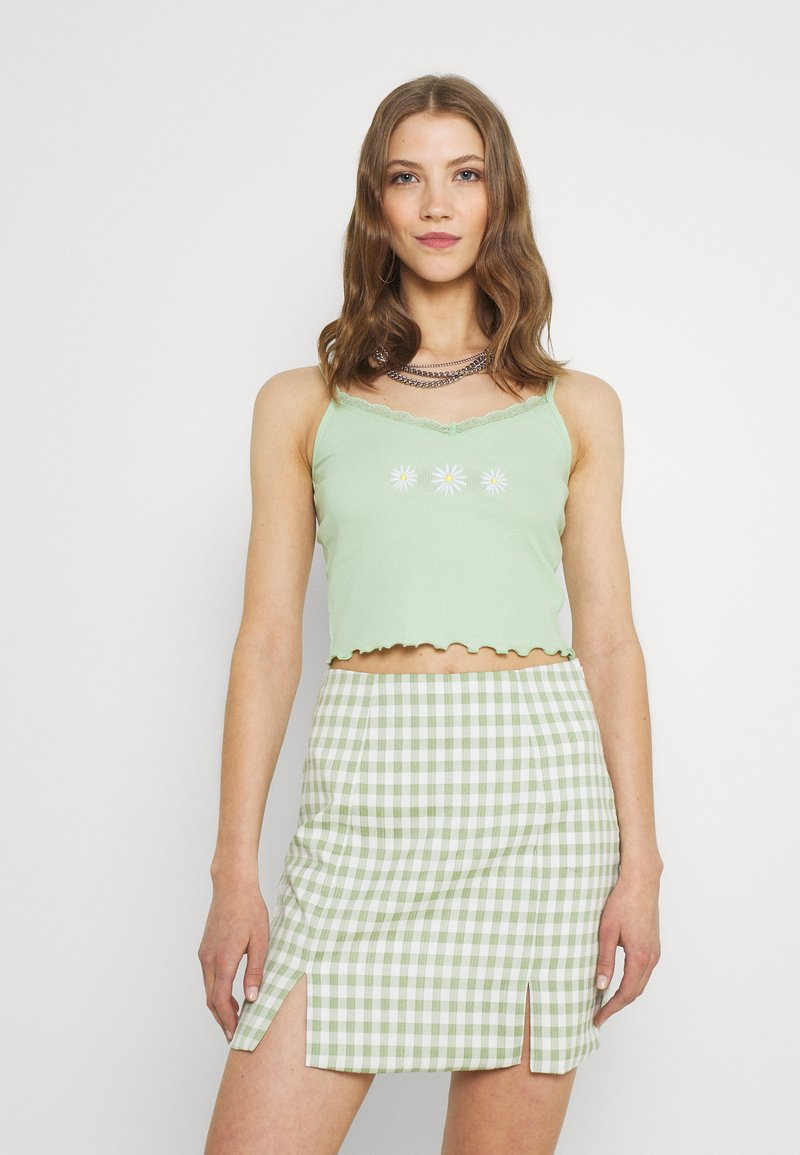 Hollister Co. - CAMI - Top - pastel green