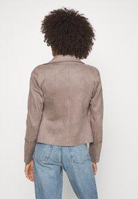 Cartoon - Faux leather jacket - earth grey - 2