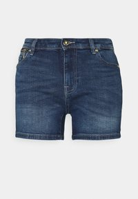 ONLY - ONLISA LIFE ZIP - Jeansshorts - medium blue denim - 0