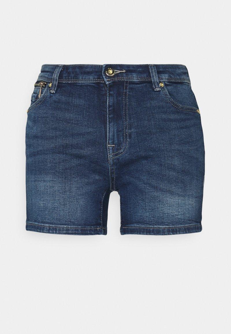 ONLY - ONLISA LIFE ZIP - Jeansshorts - medium blue denim