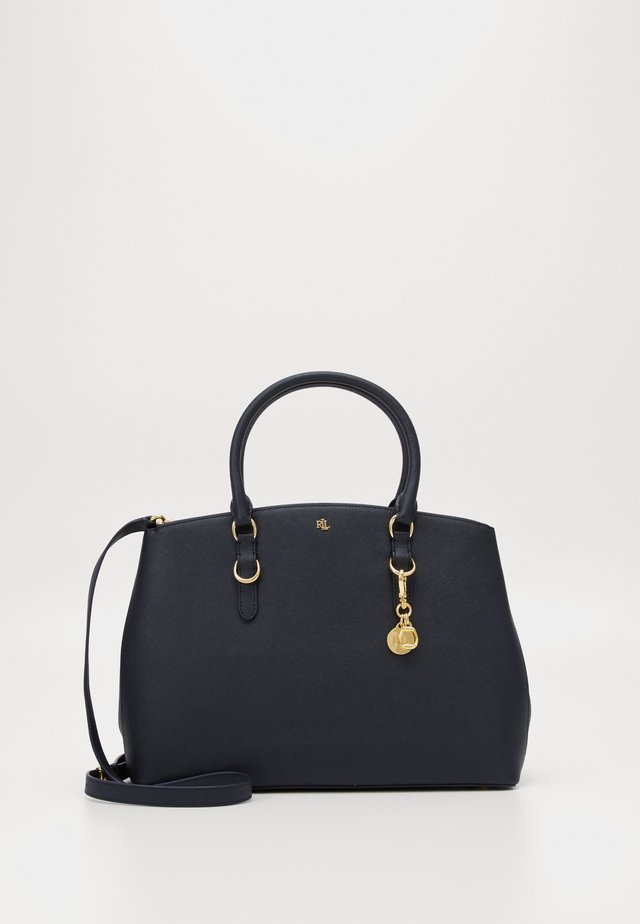 SATCHEL LARGE SAFFIANO - Handbag - navy