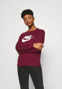 Nike Sportswear - CREW - Sweatshirt - dark beetroot - 0