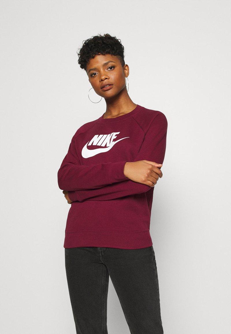 Nike Sportswear - CREW - Sweatshirt - dark beetroot