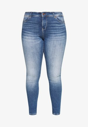 VMLUX - Jeans Skinny - medium blue denim