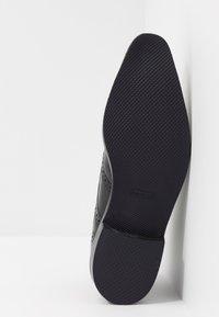 Melvin & Hamilton - FREDDY - Elegantní šněrovací boty - remo black - 4