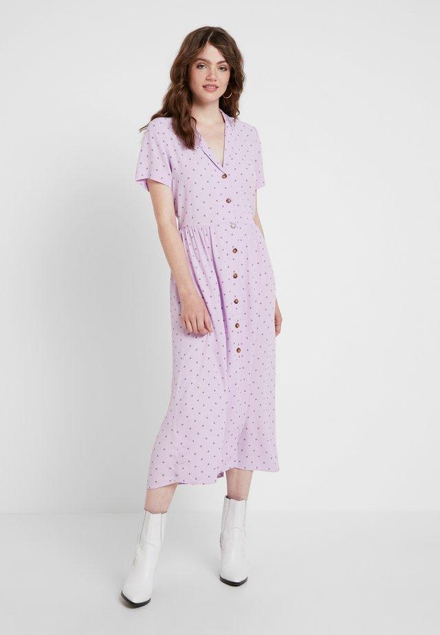 ENNAPLES DRESS - Robe chemise - lilac/beige